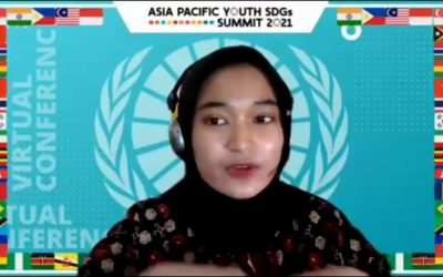 Asia Pacific Youth Sustainable Development Goals Summit (SDGs) 2021