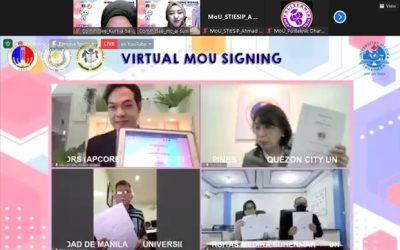 Universitas Medika Suherman Sharing In International Partnership And Virtual MoU Signing