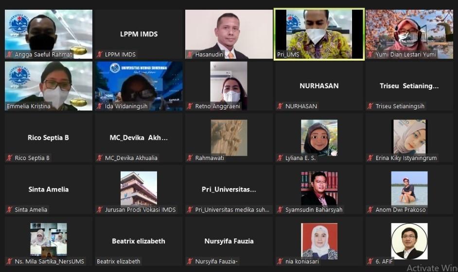 Webinar Nasional Diseminasi Pengabdian kepada Masyarakat Term II